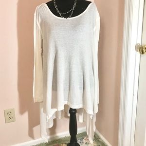 NWT Free People High Low Lightweight Tunic